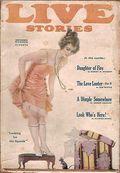 Live Stories (1914-1926 Clayton) Pulp Vol. 29 #2