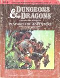 Dungeons and Dragons Official Game Adventure: In Search of Adventure SC (1987 TSR) B1-9