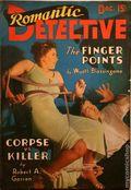 Romantic Detective (1938-1939 Trojan Publishing) Pulp Vol. 1 #6
