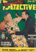 Romantic Detective (1938-1939 Trojan Publishing) Pulp Vol. 2 #1