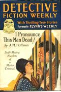Detective Fiction Weekly (1928-1942 Red Star News) Pulp Vol. 35 #4