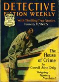 Detective Fiction Weekly (1928-1942 Red Star News) Pulp Vol. 37 #1