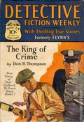 Detective Fiction Weekly (1928-1942 Red Star News) Pulp Vol. 37 #3