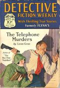Detective Fiction Weekly (1928-1942 Red Star News) Pulp Vol. 37 #5