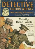 Detective Fiction Weekly (1928-1942 Red Star News) Pulp Vol. 37 #6