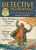 Detective Fiction Weekly (1928-1942 Red Star News) Pulp Vol. 38 #1