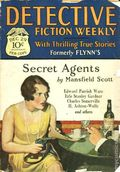 Detective Fiction Weekly (1928-1942 Red Star News) Pulp Vol. 38 #2