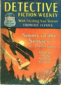 Detective Fiction Weekly (1928-1942 Red Star News) Pulp Vol. 38 #5