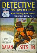 Detective Fiction Weekly (1928-1942 Red Star News) Pulp Vol. 39 #1