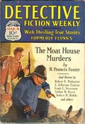 Detective Fiction Weekly (1928-1942 Red Star News) Pulp Vol. 39 #6