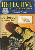 Detective Fiction Weekly (1928-1942 Red Star News) Pulp Vol. 40 #3