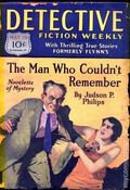 Detective Fiction Weekly (1928-1942 Red Star News) Pulp Vol. 41 #4