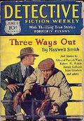 Detective Fiction Weekly (1928-1942 Red Star News) Pulp Vol. 41 #6