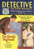 Detective Fiction Weekly (1928-1942 Red Star News) Pulp Vol. 50 #1