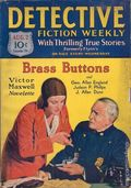 Detective Fiction Weekly (1928-1942 Red Star News) Pulp Vol. 52 #1