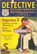 Detective Fiction Weekly (1928-1942 Red Star News) Pulp Vol. 52 #6