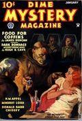 Dime Mystery Magazine (1932-1950 Dime Mystery Book Magazine - Popular) Pulp Vol. 7 #2