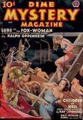 Dime Mystery Magazine (1932-1950 Dime Mystery Book Magazine - Popular) Pulp Vol. 18 #2