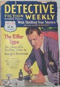 Detective Fiction Weekly (1928-1942 Red Star News) Pulp Vol. 54 #1