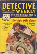 Detective Fiction Weekly (1928-1942 Red Star News) Pulp Vol. 54 #3