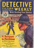 Detective Fiction Weekly (1928-1942 Red Star News) Pulp Vol. 62 #4