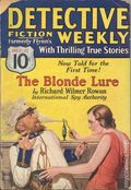 Detective Fiction Weekly (1928-1942 Red Star News) Pulp Vol. 63 #6