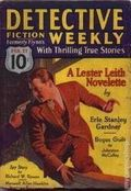 Detective Fiction Weekly (1928-1942 Red Star News) Pulp Vol. 65 #5