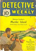 Detective Fiction Weekly (1928-1942 Red Star News) Pulp Vol. 70 #1
