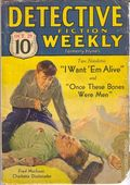Detective Fiction Weekly (1928-1942 Red Star News) Pulp Vol. 71 #4