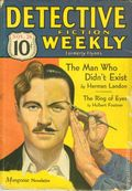 Detective Fiction Weekly (1928-1942 Red Star News) Pulp Vol. 72 #2