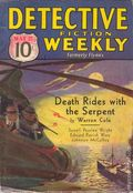 Detective Fiction Weekly (1928-1942 Red Star News) Pulp Vol. 76 #4