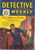 Detective Fiction Weekly (1928-1942 Red Star News) Pulp Vol. 77 #1