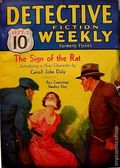 Detective Fiction Weekly (1928-1942 Red Star News) Pulp Vol. 78 #5