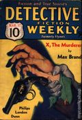 Detective Fiction Weekly (1928-1942 Red Star News) Pulp Vol. 83 #3