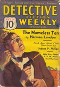 Detective Fiction Weekly (1928-1942 Red Star News) Pulp Vol. 85 #1