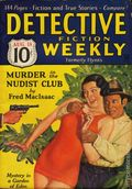 Detective Fiction Weekly (1928-1942 Red Star News) Pulp Vol. 87 #1