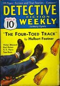 Detective Fiction Weekly (1928-1942 Red Star News) Pulp Vol. 88 #1