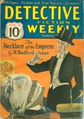 Detective Fiction Weekly (1928-1942 Red Star News) Pulp Vol. 89 #1