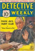 Detective Fiction Weekly (1928-1942 Red Star News) Pulp Vol. 91 #1