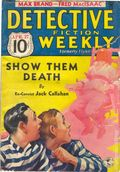 Detective Fiction Weekly (1928-1942 Red Star News) Pulp Vol. 93 #1