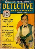 Detective Fiction Weekly (1928-1942 Red Star News) Pulp Vol. 99 #3