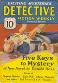 Detective Fiction Weekly (1928-1942 Red Star News) Pulp Vol. 101 #1