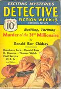 Detective Fiction Weekly (1928-1942 Red Star News) Pulp Vol. 101 #4