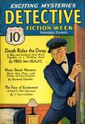 Detective Fiction Weekly (1928-1942 Red Star News) Pulp Vol. 102 #4