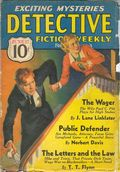 Detective Fiction Weekly (1928-1942 Red Star News) Pulp Vol. 103 #2