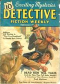 Detective Fiction Weekly (1928-1942 Red Star News) Pulp Vol. 104 #6
