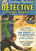 Detective Fiction Weekly (1928-1942 Red Star News) Pulp Vol. 106 #4