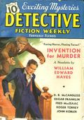 Detective Fiction Weekly (1928-1942 Red Star News) Pulp Vol. 107 #1