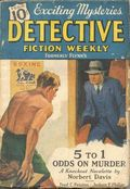Detective Fiction Weekly (1928-1942 Red Star News) Pulp Vol. 108 #4