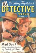 Detective Fiction Weekly (1928-1942 Red Star News) Pulp Vol. 108 #5